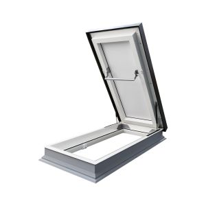 Fixed Flat roof skylight DU6 THERMO (triple glazed)