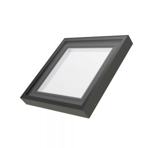 SKYLIGHT - FXC - 30/30 , Outside Curb dim: 33.5 / 33.5 LAMINATED glass - FIXED Low-E