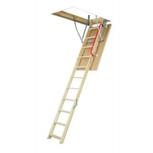 "FAKRO LWP 25""x47"" INSULATED 300 lbs ATTIC LADDER 7'5''-8'11''"